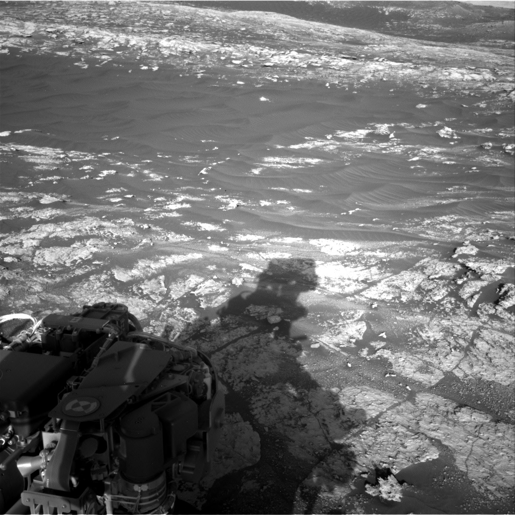 Nasa's Mars rover Curiosity acquired this image using its Right Navigation Camera on Sol 2606, at drive 138, site number 78