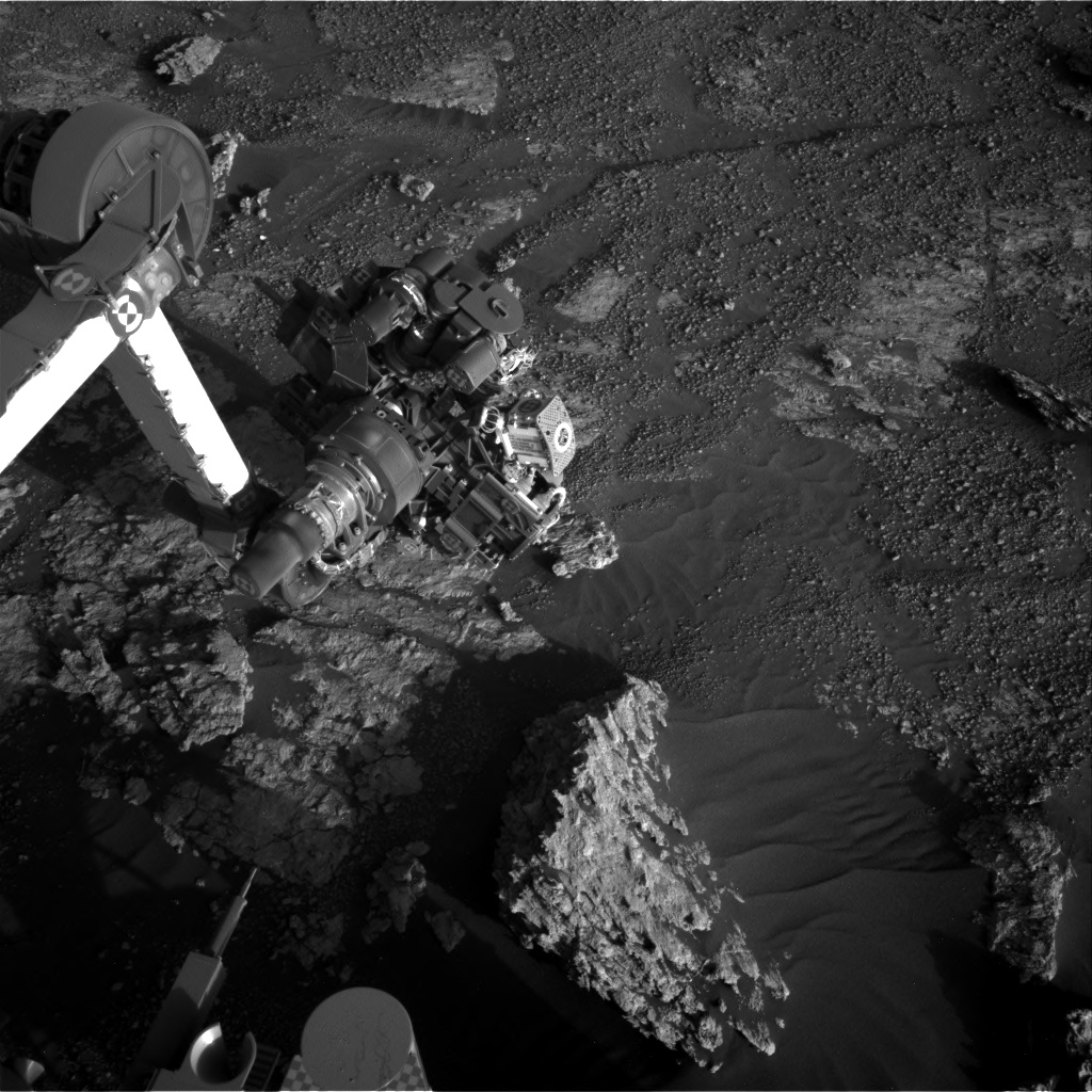 Nasa's Mars rover Curiosity acquired this image using its Right Navigation Camera on Sol 2608, at drive 138, site number 78