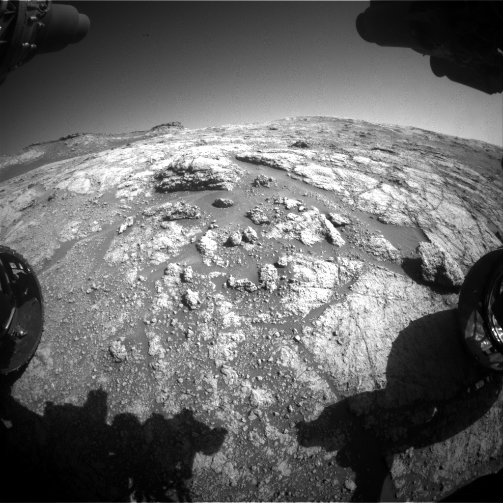 Nasa's Mars rover Curiosity acquired this image using its Front Hazard Avoidance Camera (Front Hazcam) on Sol 2609, at drive 216, site number 78