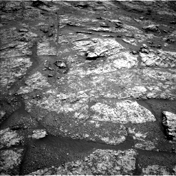 Nasa's Mars rover Curiosity acquired this image using its Left Navigation Camera on Sol 2609, at drive 138, site number 78