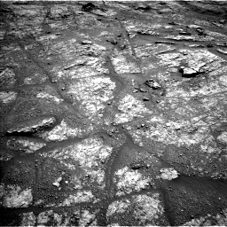 Nasa's Mars rover Curiosity acquired this image using its Left Navigation Camera on Sol 2609, at drive 150, site number 78