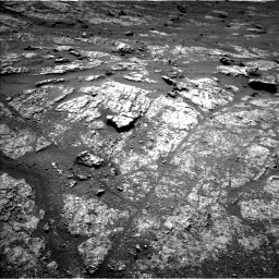 Nasa's Mars rover Curiosity acquired this image using its Left Navigation Camera on Sol 2609, at drive 174, site number 78