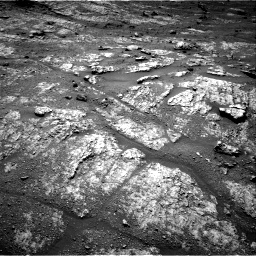 Nasa's Mars rover Curiosity acquired this image using its Right Navigation Camera on Sol 2609, at drive 186, site number 78