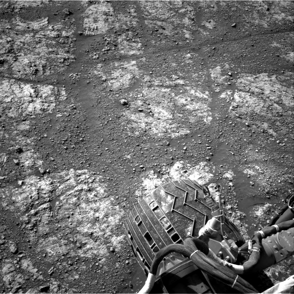 Nasa's Mars rover Curiosity acquired this image using its Right Navigation Camera on Sol 2609, at drive 216, site number 78