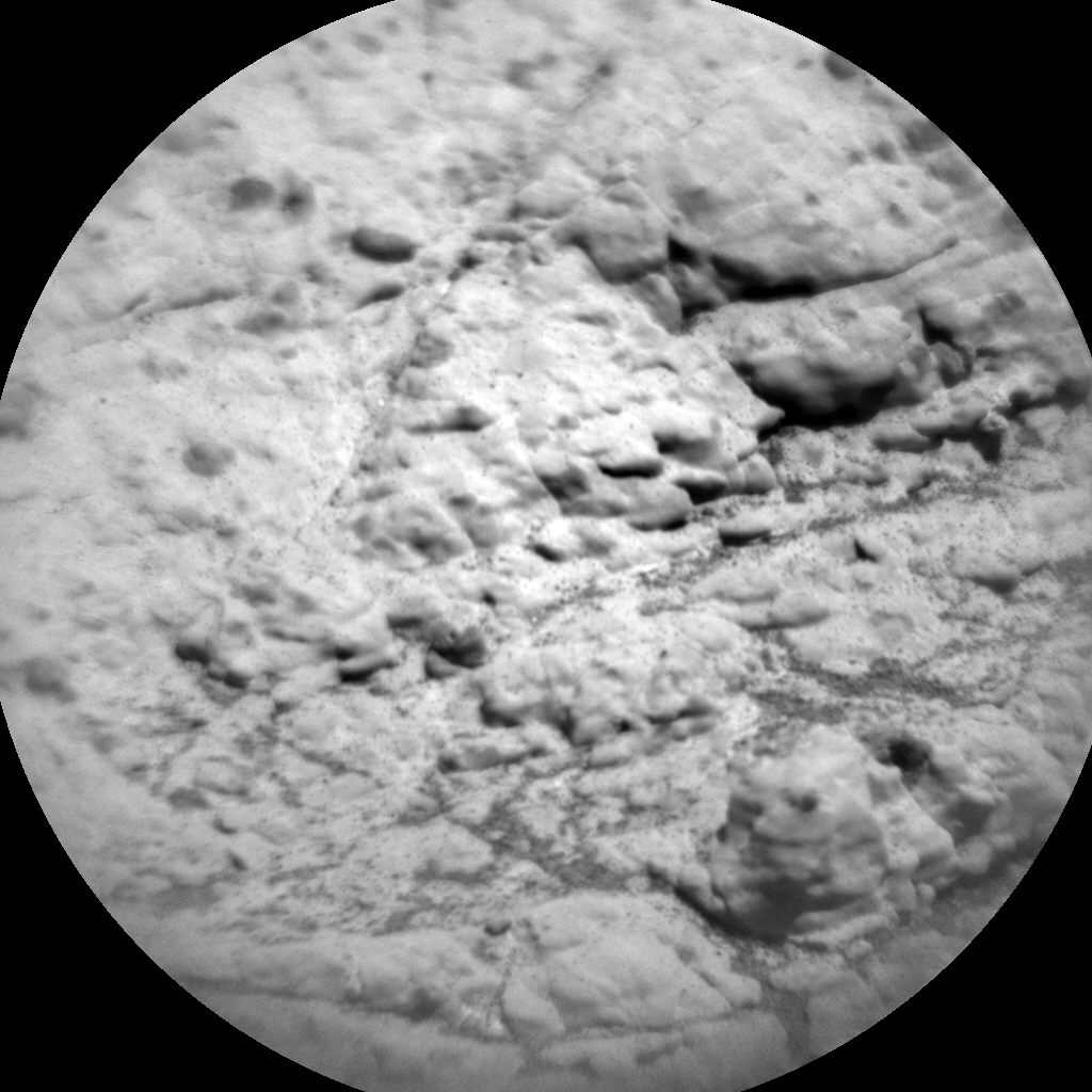 Nasa's Mars rover Curiosity acquired this image using its Chemistry & Camera (ChemCam) on Sol 2610, at drive 216, site number 78