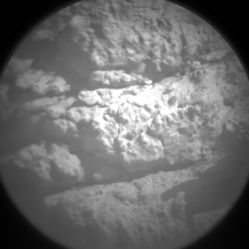 Nasa's Mars rover Curiosity acquired this image using its Chemistry & Camera (ChemCam) on Sol 2611, at drive 216, site number 78