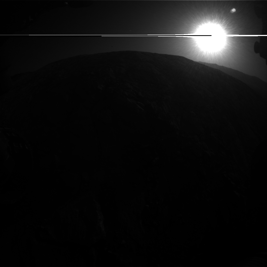 Nasa's Mars rover Curiosity acquired this image using its Front Hazard Avoidance Camera (Front Hazcam) on Sol 2611, at drive 486, site number 78