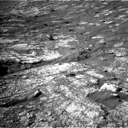 Nasa's Mars rover Curiosity acquired this image using its Left Navigation Camera on Sol 2611, at drive 276, site number 78
