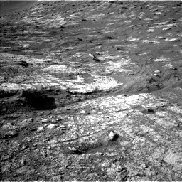 Nasa's Mars rover Curiosity acquired this image using its Left Navigation Camera on Sol 2611, at drive 282, site number 78
