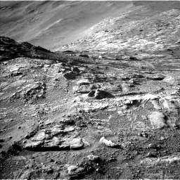 Nasa's Mars rover Curiosity acquired this image using its Left Navigation Camera on Sol 2611, at drive 324, site number 78
