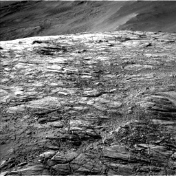 Nasa's Mars rover Curiosity acquired this image using its Left Navigation Camera on Sol 2611, at drive 456, site number 78