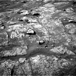 Nasa's Mars rover Curiosity acquired this image using its Right Navigation Camera on Sol 2611, at drive 240, site number 78