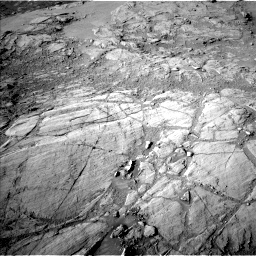 Nasa's Mars rover Curiosity acquired this image using its Left Navigation Camera on Sol 2613, at drive 516, site number 78