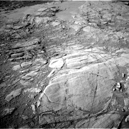 Nasa's Mars rover Curiosity acquired this image using its Left Navigation Camera on Sol 2613, at drive 522, site number 78