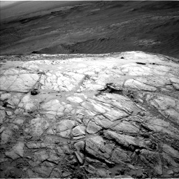 Nasa's Mars rover Curiosity acquired this image using its Left Navigation Camera on Sol 2613, at drive 552, site number 78