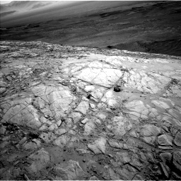 Nasa's Mars rover Curiosity acquired this image using its Left Navigation Camera on Sol 2613, at drive 558, site number 78