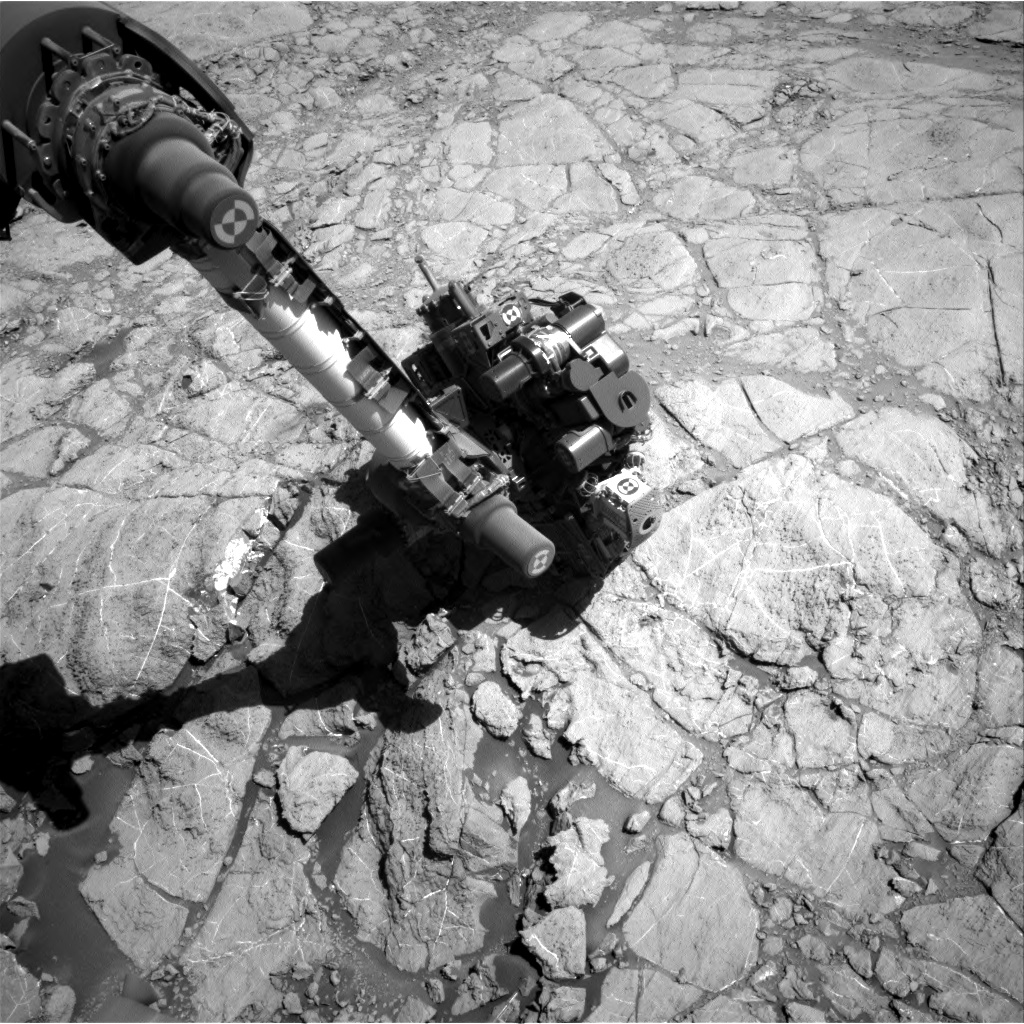 Nasa's Mars rover Curiosity acquired this image using its Right Navigation Camera on Sol 2613, at drive 486, site number 78