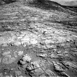 Nasa's Mars rover Curiosity acquired this image using its Right Navigation Camera on Sol 2613, at drive 606, site number 78