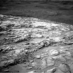 Nasa's Mars rover Curiosity acquired this image using its Left Navigation Camera on Sol 2616, at drive 648, site number 78
