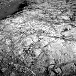 Nasa's Mars rover Curiosity acquired this image using its Left Navigation Camera on Sol 2616, at drive 744, site number 78