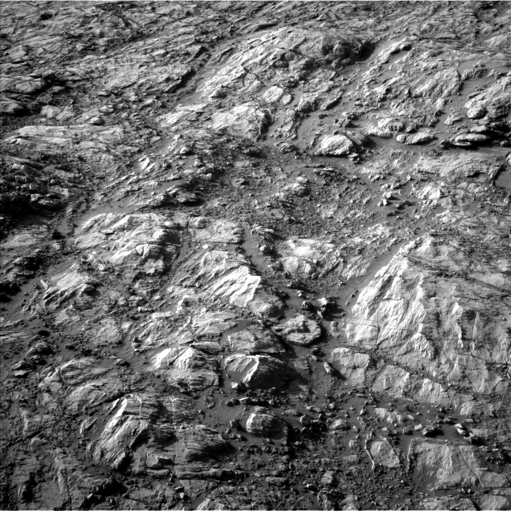 Nasa's Mars rover Curiosity acquired this image using its Left Navigation Camera on Sol 2616, at drive 792, site number 78