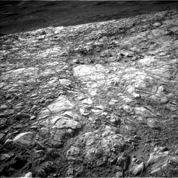 Nasa's Mars rover Curiosity acquired this image using its Left Navigation Camera on Sol 2616, at drive 822, site number 78