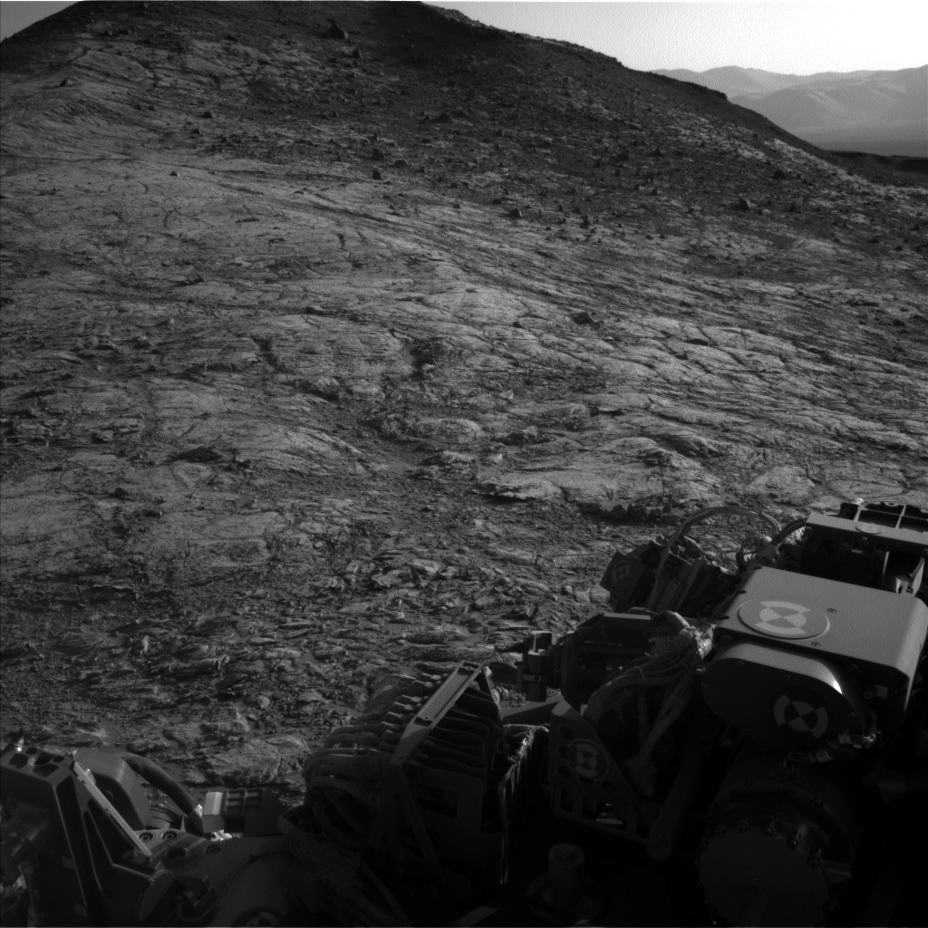 Nasa's Mars rover Curiosity acquired this image using its Left Navigation Camera on Sol 2616, at drive 834, site number 78