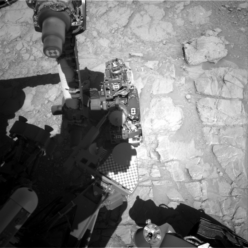 Nasa's Mars rover Curiosity acquired this image using its Right Navigation Camera on Sol 2616, at drive 612, site number 78