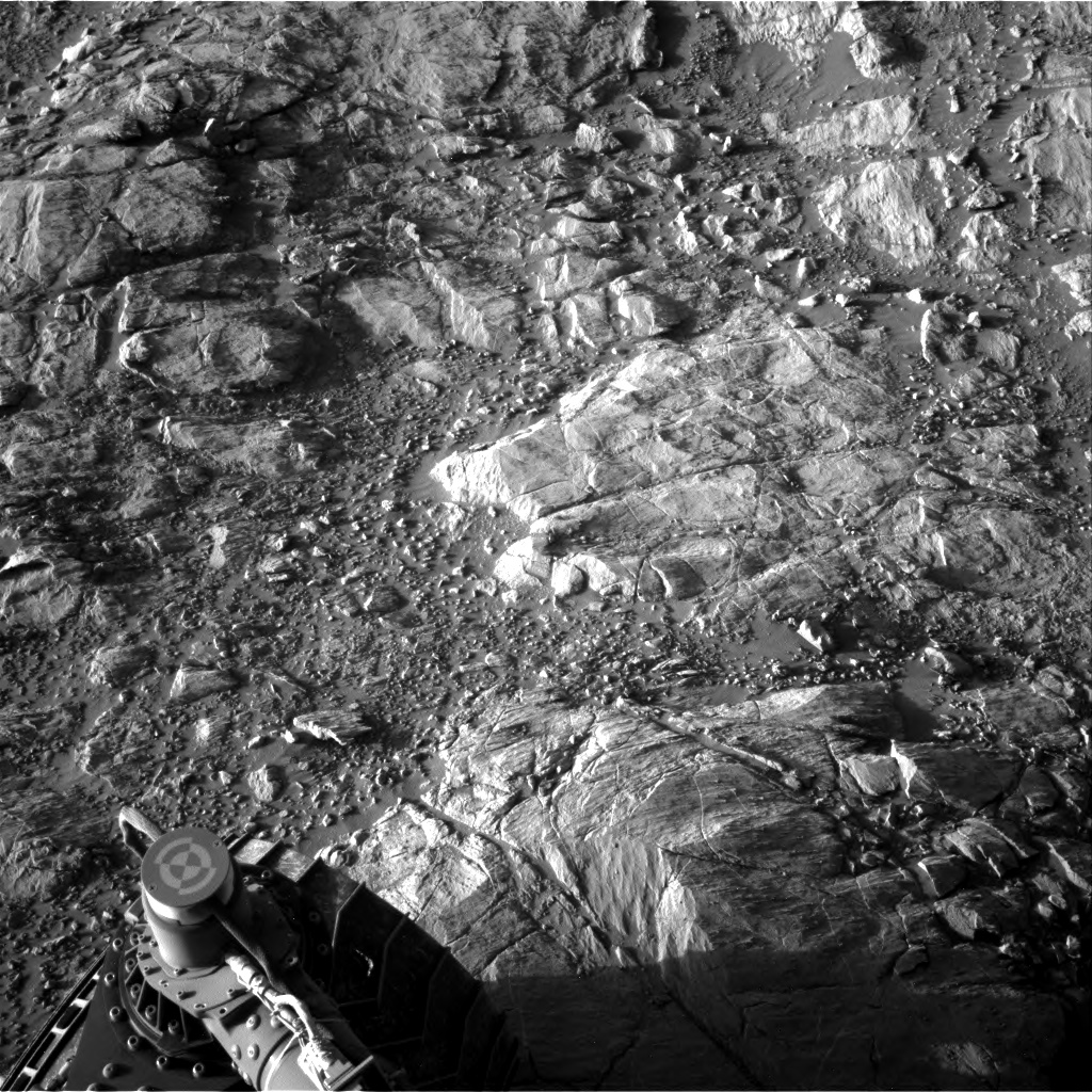 Nasa's Mars rover Curiosity acquired this image using its Right Navigation Camera on Sol 2616, at drive 834, site number 78