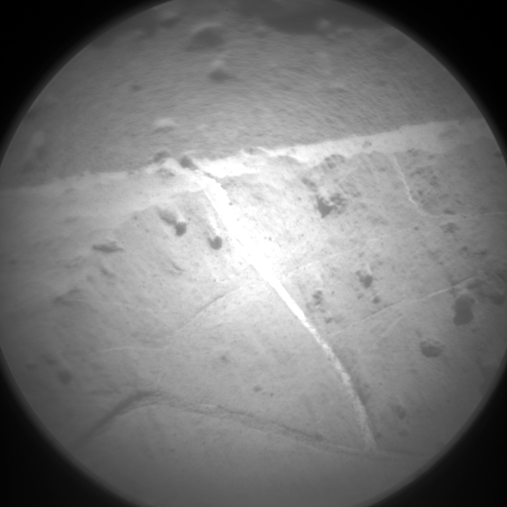 Nasa's Mars rover Curiosity acquired this image using its Chemistry & Camera (ChemCam) on Sol 2617, at drive 834, site number 78