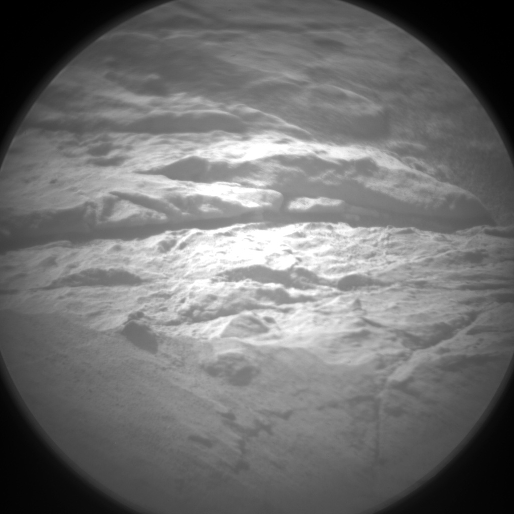 Nasa's Mars rover Curiosity acquired this image using its Chemistry & Camera (ChemCam) on Sol 2618, at drive 1002, site number 78