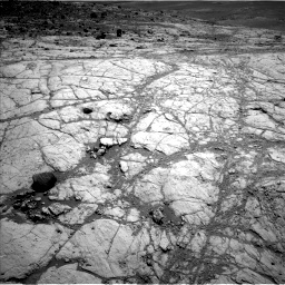 Nasa's Mars rover Curiosity acquired this image using its Left Navigation Camera on Sol 2618, at drive 960, site number 78
