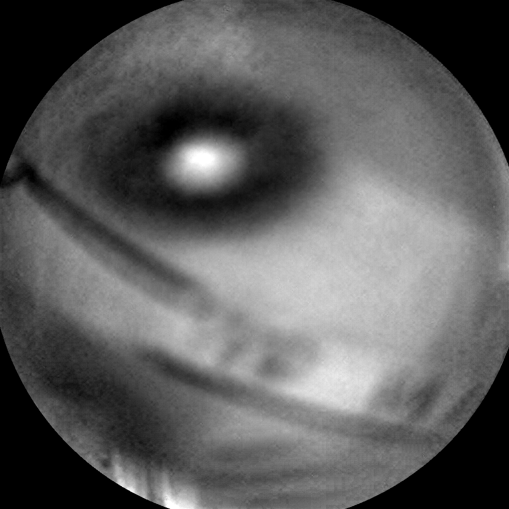 Nasa's Mars rover Curiosity acquired this image using its Chemistry & Camera (ChemCam) on Sol 2626, at drive 1002, site number 78