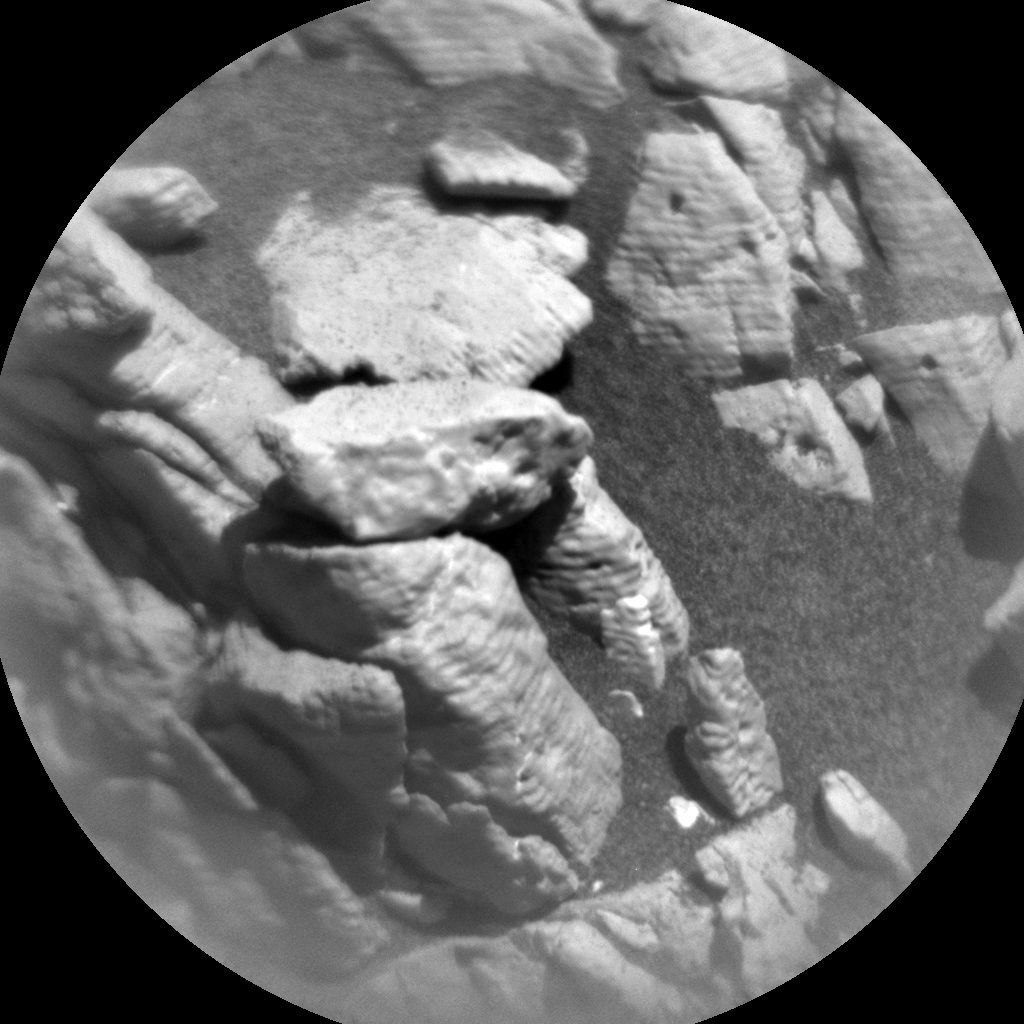 Nasa's Mars rover Curiosity acquired this image using its Chemistry & Camera (ChemCam) on Sol 2632, at drive 1002, site number 78
