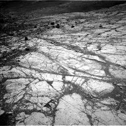 Nasa's Mars rover Curiosity acquired this image using its Left Navigation Camera on Sol 2633, at drive 1044, site number 78