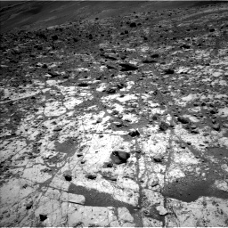 Nasa's Mars rover Curiosity acquired this image using its Left Navigation Camera on Sol 2633, at drive 1074, site number 78