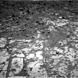 Nasa's Mars rover Curiosity acquired this image using its Left Navigation Camera on Sol 2633, at drive 1104, site number 78