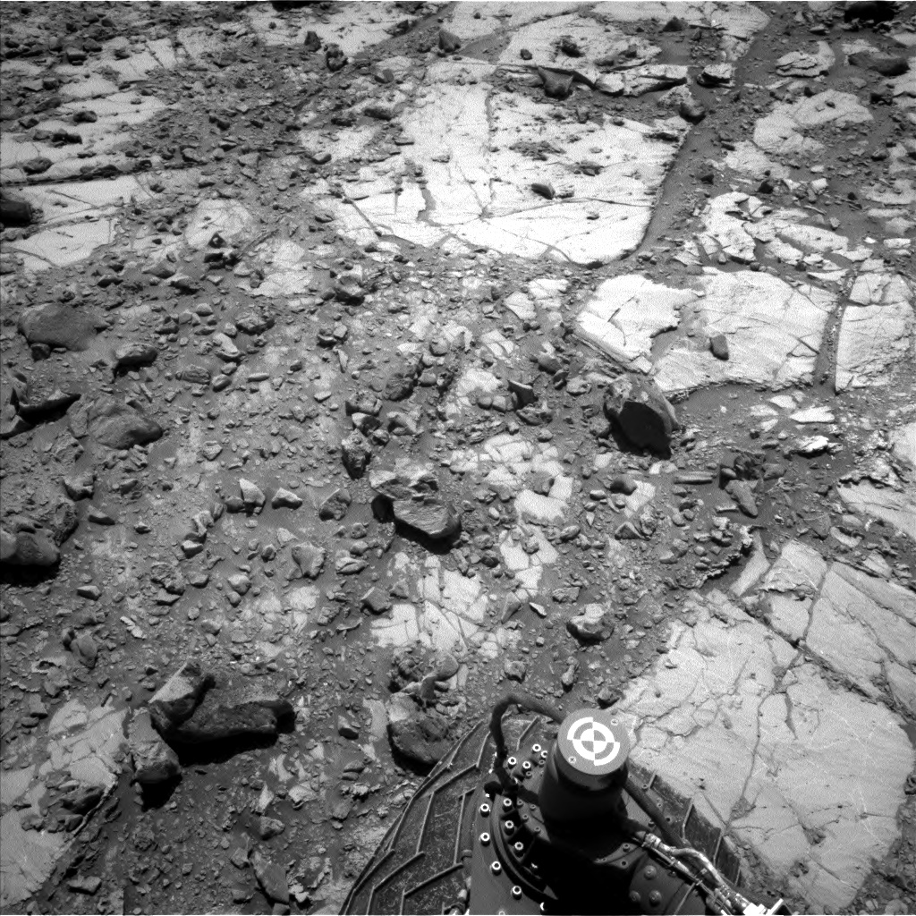 Nasa's Mars rover Curiosity acquired this image using its Left Navigation Camera on Sol 2633, at drive 1138, site number 78