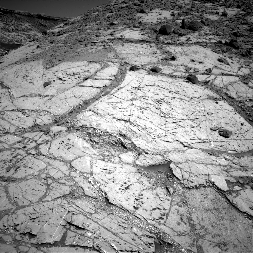 Nasa's Mars rover Curiosity acquired this image using its Right Navigation Camera on Sol 2633, at drive 1092, site number 78
