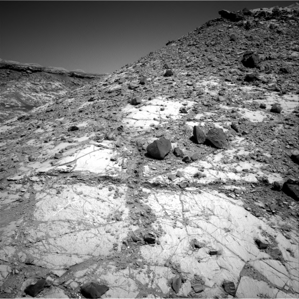 Nasa's Mars rover Curiosity acquired this image using its Right Navigation Camera on Sol 2633, at drive 1116, site number 78