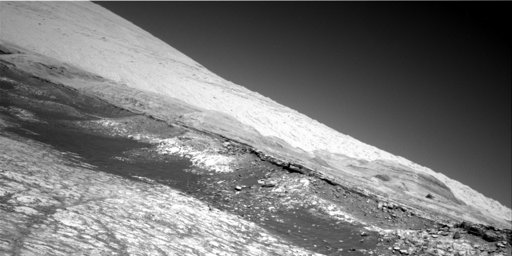 Nasa's Mars rover Curiosity acquired this image using its Right Navigation Camera on Sol 2634, at drive 1138, site number 78