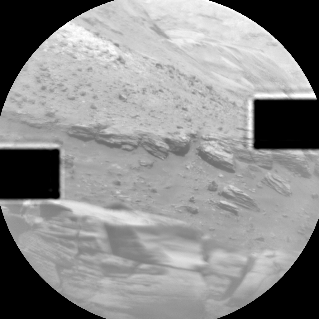 Nasa's Mars rover Curiosity acquired this image using its Chemistry & Camera (ChemCam) on Sol 2635, at drive 1138, site number 78