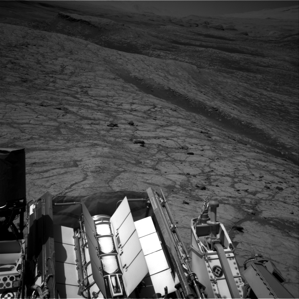 Nasa's Mars rover Curiosity acquired this image using its Right Navigation Camera on Sol 2636, at drive 1138, site number 78
