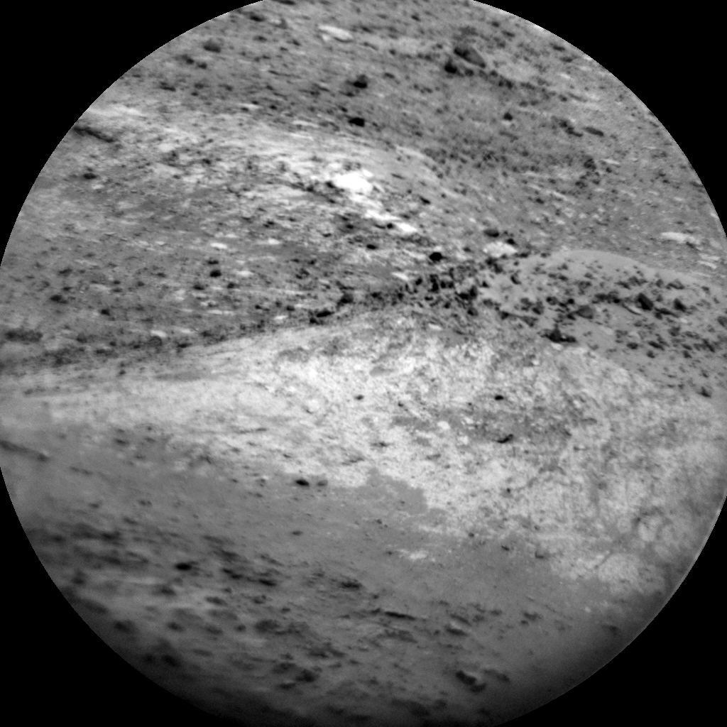 Nasa's Mars rover Curiosity acquired this image using its Chemistry & Camera (ChemCam) on Sol 2638, at drive 1138, site number 78