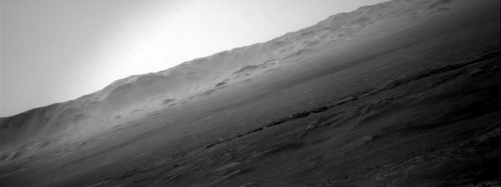 Nasa's Mars rover Curiosity acquired this image using its Right Navigation Camera on Sol 2639, at drive 1160, site number 78