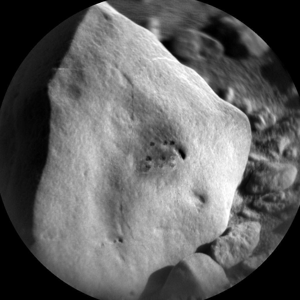 Nasa's Mars rover Curiosity acquired this image using its Chemistry & Camera (ChemCam) on Sol 2639, at drive 1160, site number 78