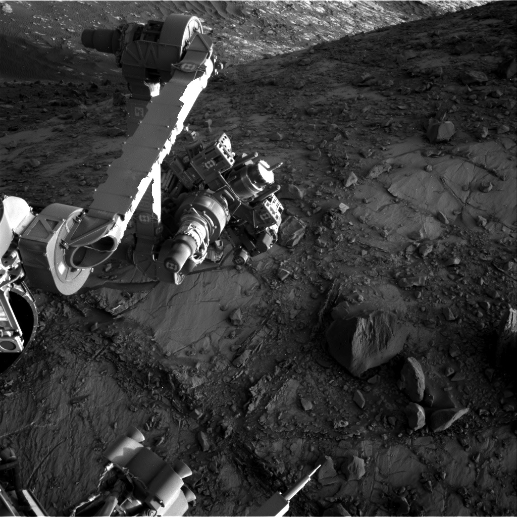 Nasa's Mars rover Curiosity acquired this image using its Right Navigation Camera on Sol 2640, at drive 1160, site number 78