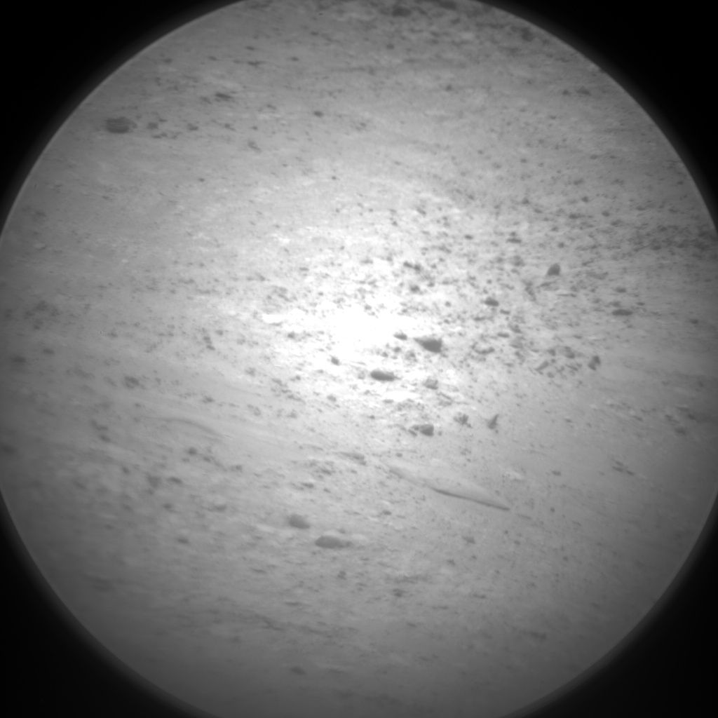 Nasa's Mars rover Curiosity acquired this image using its Chemistry & Camera (ChemCam) on Sol 2641, at drive 1160, site number 78