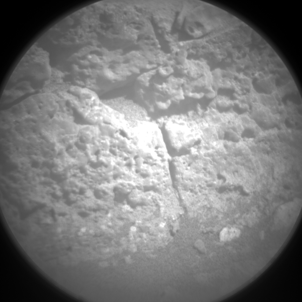 Nasa's Mars rover Curiosity acquired this image using its Chemistry & Camera (ChemCam) on Sol 2642, at drive 1160, site number 78