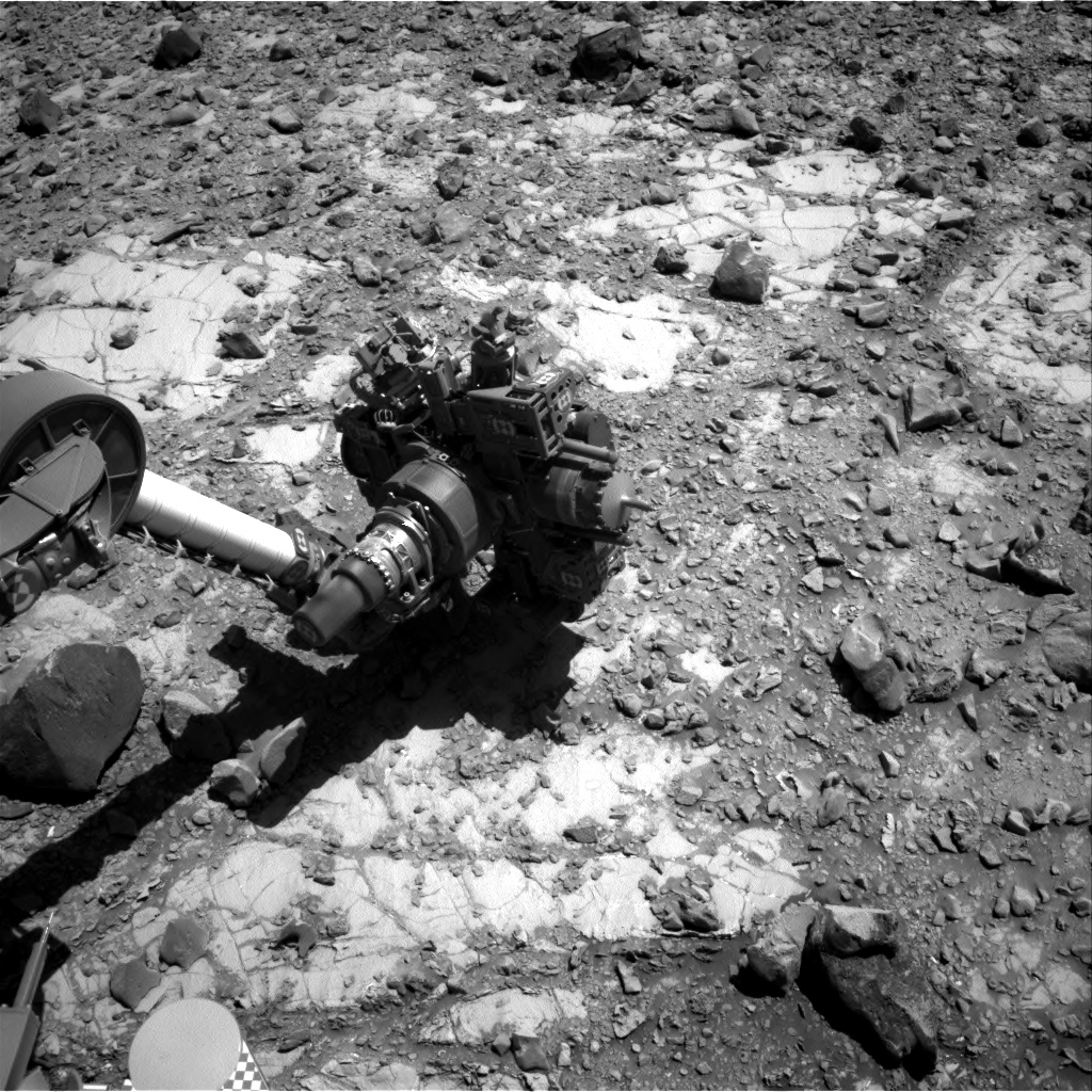 Nasa's Mars rover Curiosity acquired this image using its Right Navigation Camera on Sol 2642, at drive 1160, site number 78